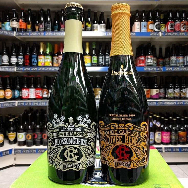 New Beers. Special Blend 2010 Oude Gueuze Cuvee Rene & Blossom Gueuze Lambic from #brouwerij #lindemans in stock now