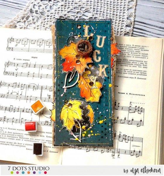 """Good fortune and luck"" October / November 2016 challenge by Olga Eltysheva"