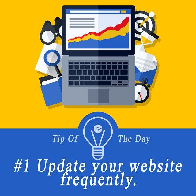 Tip of the day from our team! By keeping your website fresh and up to date not only are you improving your user experience but you're also improving your search engine authority. Ask us how! #tipoftheday #website #seo #marketing #electronics #eminentseo #team #tips