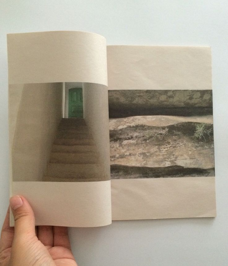 """Libro de artista """"nada de Bogotá """" Carolina Oltra"""