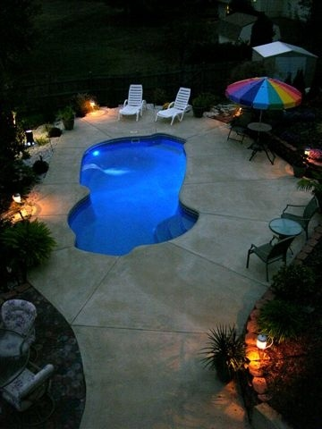 Freeform swimming pool example, wish this was your pool?