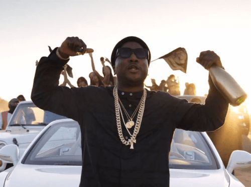 """Jeezy drops the video to """"Gold Bottles"""".  The desert-themed videos continue. After French Montana, Chris Brown and Migos roamed around the sand-filled land in """"Moses,"""" Jeezy does the same in """"Gold Bottles."""" Directed by Motion Family, the CTE rapper rounds up the ATVs, all-white Bentley, and plenty of pretty eye candy, racing around the desert before throwing a party at night. Produced by London On Da Track, the song appears on Jeezy's Church In These Streets LP, hitting stores on Nov. 13…"""