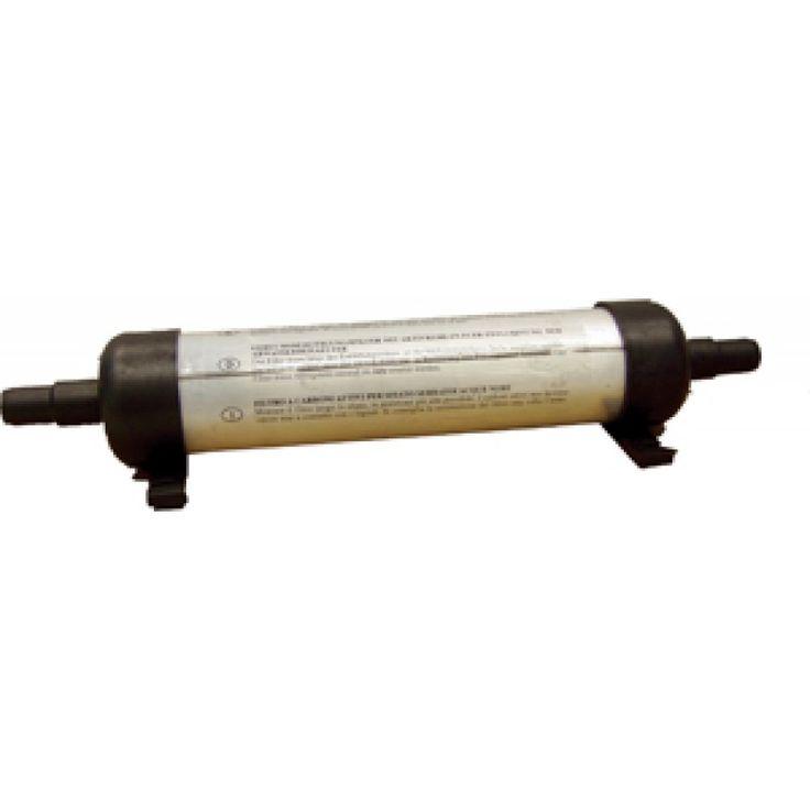 Filtro de Carbono anti olores para ventilación Aguas Negras, filtro de carbono activado para montaje sobre tubo de ventilación en depósitos de aguas negras y grises. Longitud : mm. 200, para manguera 17-19mm, En nuestra Tienda Náutica Online encontrarás e