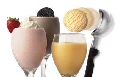 TGI Friday's Restaurant Copycat Recipes: Cocktails with Ice Cream