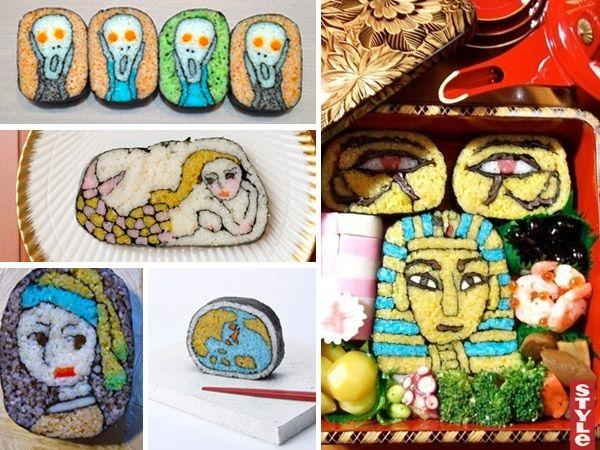 Японское искусство — суши-арт