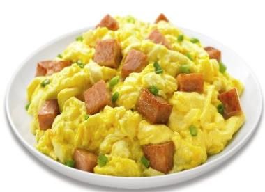 SPAM® and Scrambled Eggs   #SPAMCAN #Buzzfeed #SPAMandEggs #Eggs #breakfast