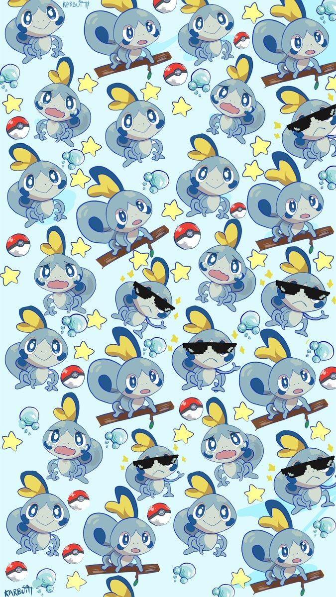 Sobble Wallpaper Pokemon Sword And Shield Cute Pokemon Wallpaper Pokemon Backgrounds Pokemon
