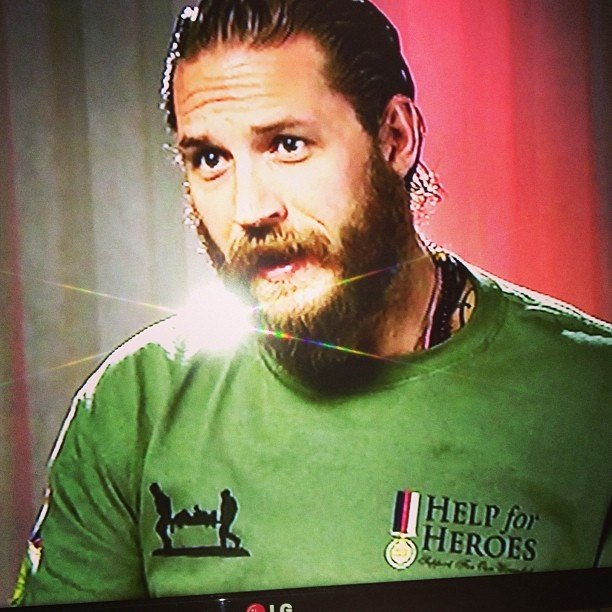Tom Hardy. HELP for HEROES
