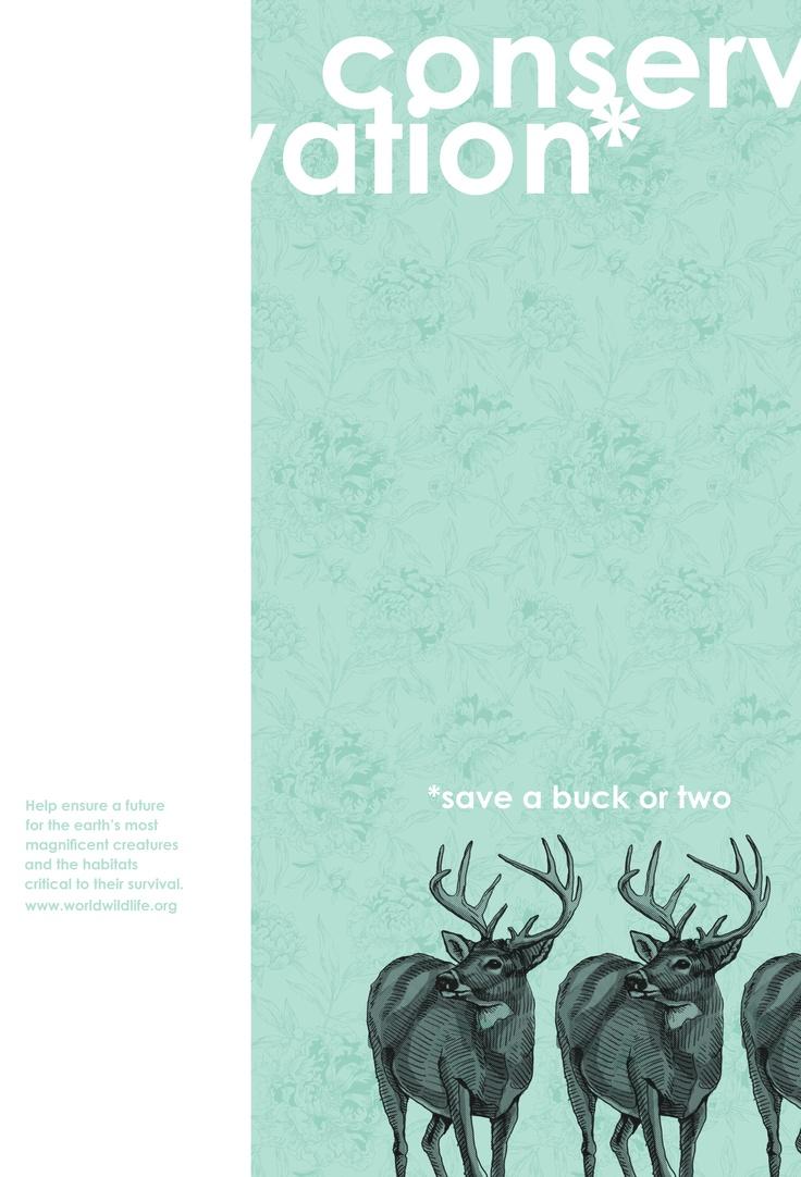 Poster design help - Conservation Poster Design Illustration