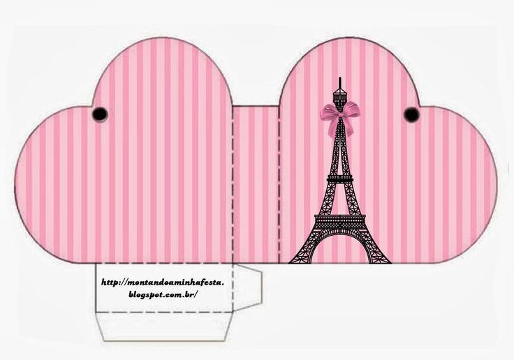 París: lindas Cajas para Imprimir Gratis. | Ideas y material gratis para fiestas y celebraciones Oh My Fiesta!