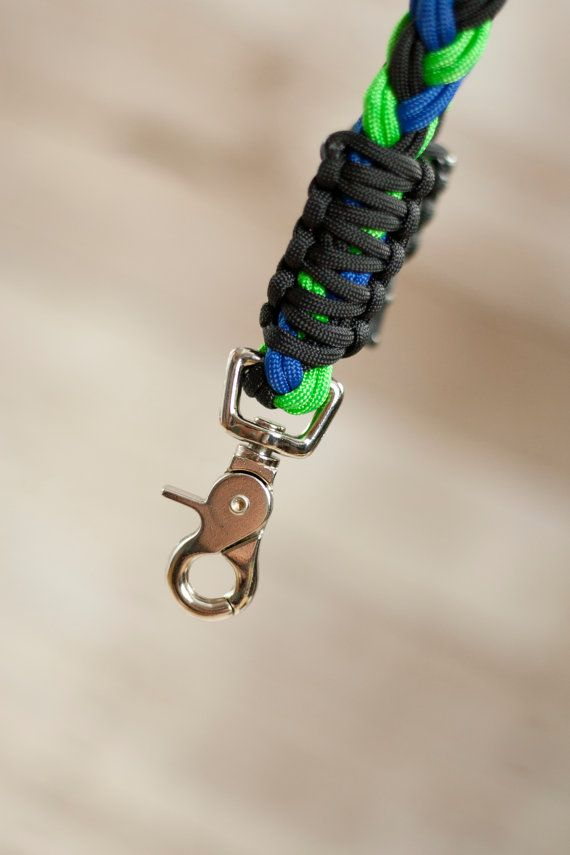 Clip lanyard paracord lanyard survival lanyard necklace for How to make a paracord lanyard necklace