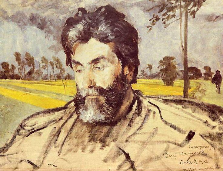 Jacek Malczewski - Portrait of Stanislaw Witkiewicz (1902)