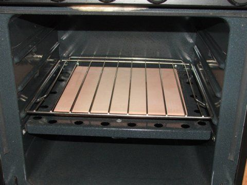 Ceramic Tile To Distribute Heat Evenly In The Rv Oven