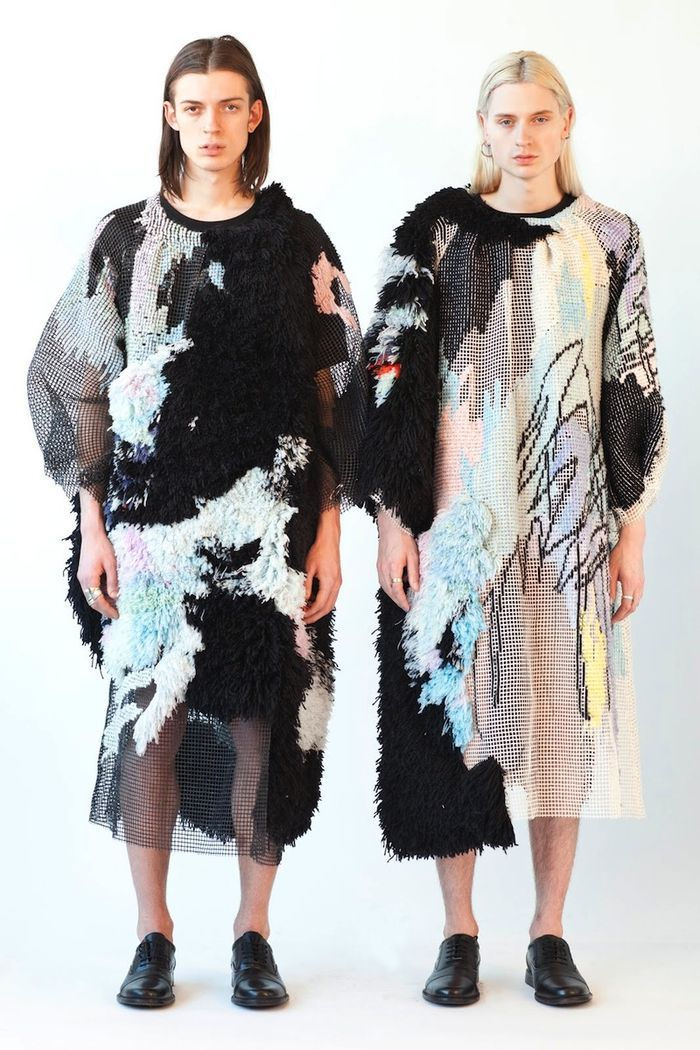 Helen Price vestidos de tapiz