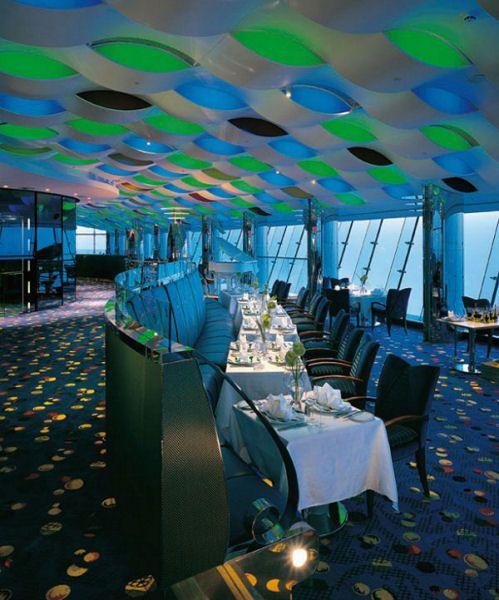 Sailboat Hotel: Inside Burj Al Arab 7 Star Hotel In Dubai, Arab Emirates