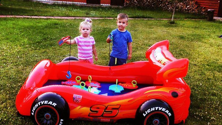 ✿ Челлендж РЫБАЛКА ДЛЯ ДЕТЕЙ Молния МАКВИН Бассейн Let's Go Fishing Game Fun Activity Kids New toys    {{AutoHashTags}}