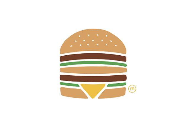 Mcdo pictogramme 1 TBWA met en scène les 6 produits symboliques de McDonalds dans une campagne très colorée !