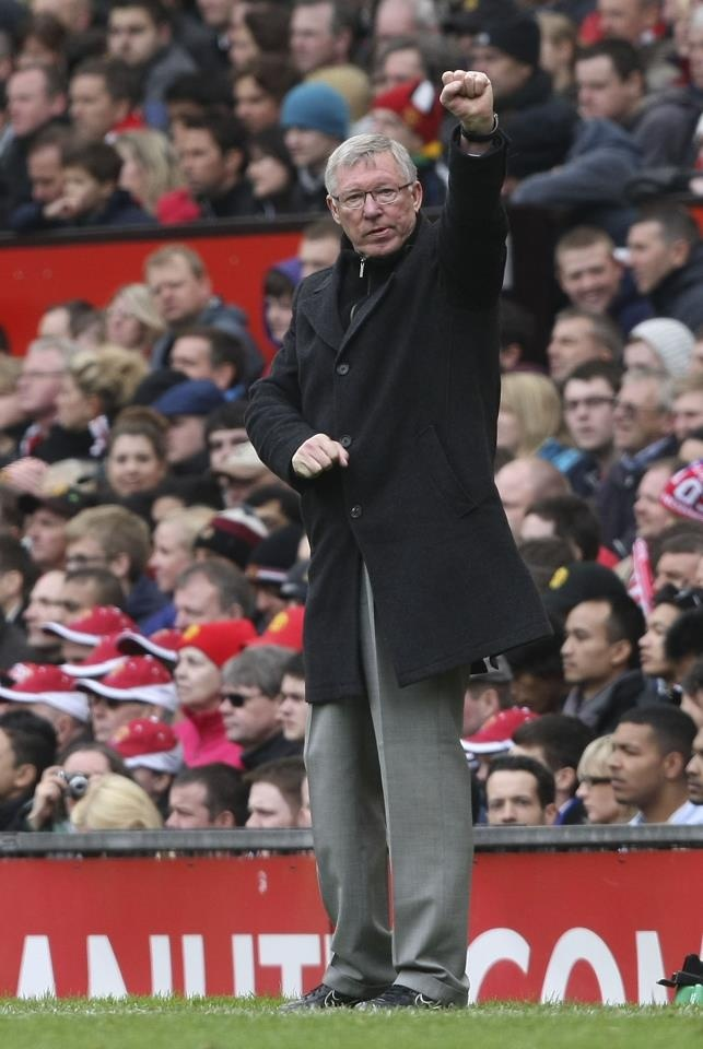 Sir Alex Ferguson, Manager, Manchester United. Greatest soccer franchise in the world!