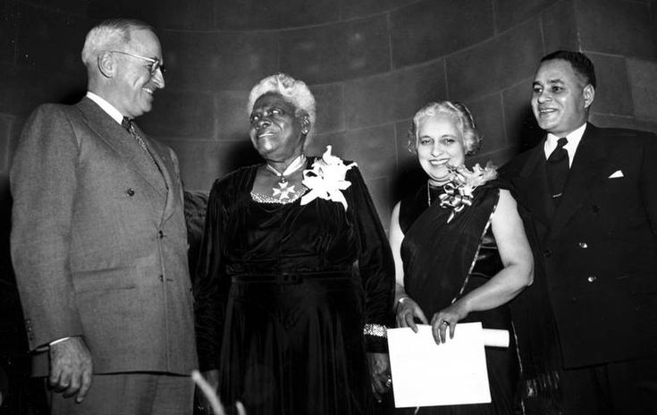 Mary McLeod Bethune.  After struggling to balance school with working on a plantation to help support her family, Bethune went on to become an educator herself, founding the Daytona Educational and Industrial Institute for girls in 1904.