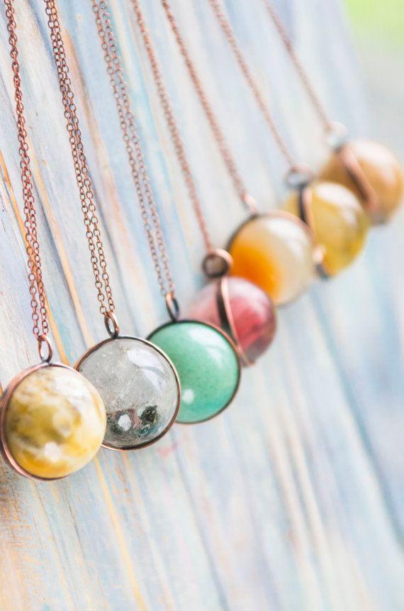 Crystal ball pendant, Orb pendant, Crystal globe, Boho Jewelry, Pagan Yoga crystal, Meditation stone, Quartz ball, Agate ball pendant,
