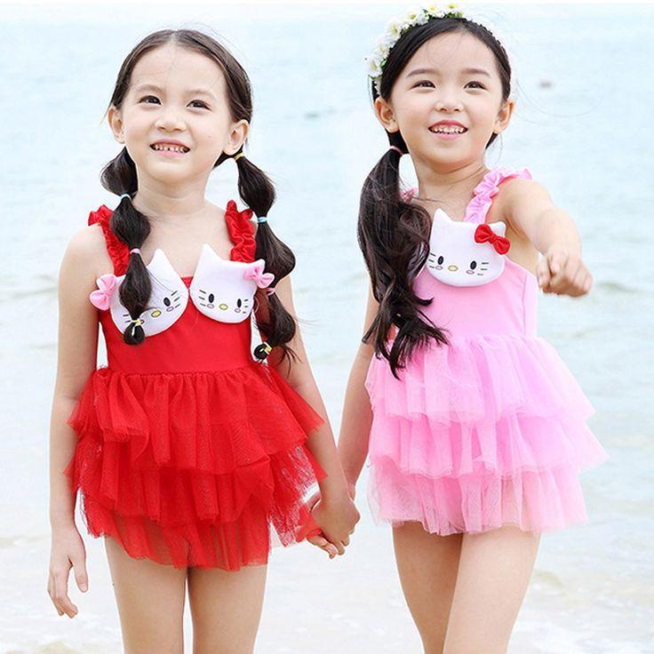 Дети купальник цельные купальники дети девушки костюмы бикини девушка принцесса купальник дети купальный костюм дети Tankini