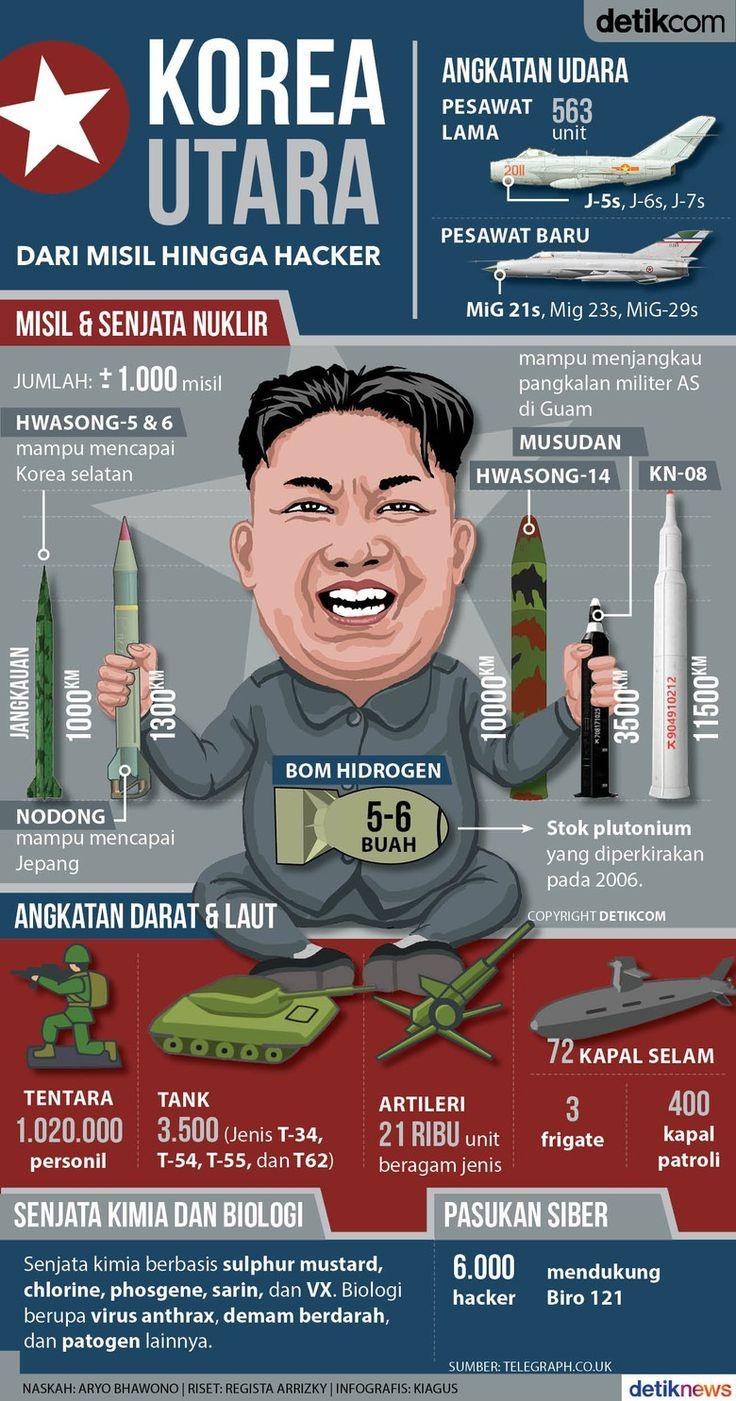 Mengintip Peta Kekuatan Militer Korea Utara