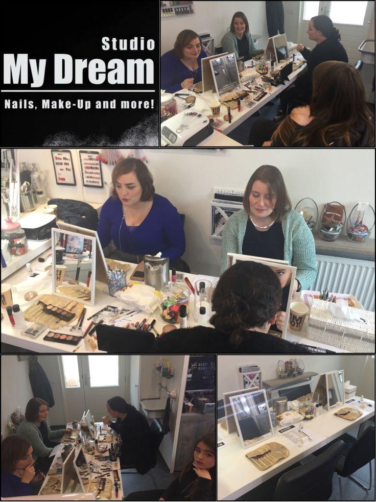 #make-up workshop #make-up #visagie #visagiste #bruidsmake-up #nijkerk #gelderland #studiomydream #mariskaham