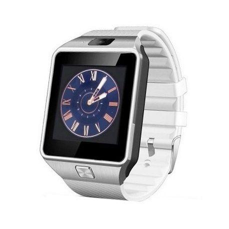 Smart Phone Watch, DZ09 smart watch, handsfree bellen, interne Sim kaart, compatible met iphone en android, berichten lezen en verzenden, fm radio, wekker, agenda, interne camera 0.8 mp, mediaspeler, sd opslag, siliconen band