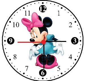 Minnie Mouse Clock | Amazon.com - Minnie Mouse Wall Clock -