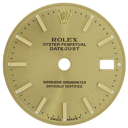 Rolex Datejust 20 mm Gold Index Dial for 179173 26mm Case Women's Watch Mode...