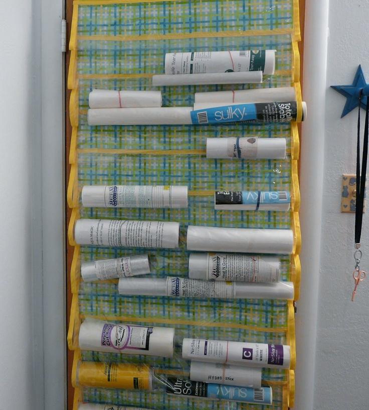 Stabilizer Organizer Quilts Pinterest Organizers
