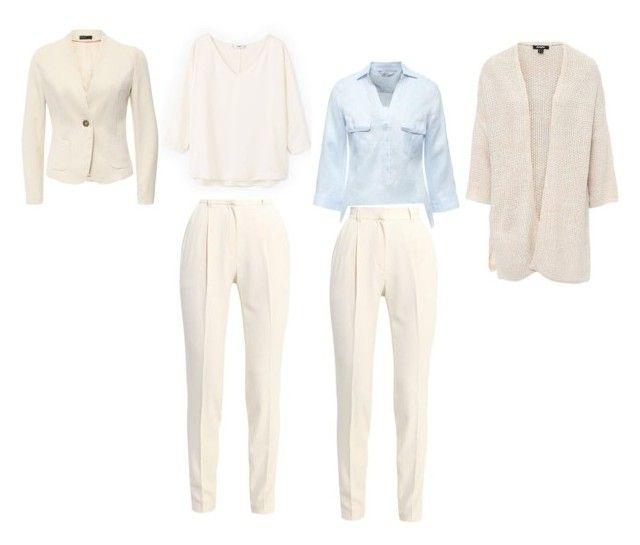 """Базовый (белые брюки)"" by elena-k-uglova on Polyvore featuring мода"