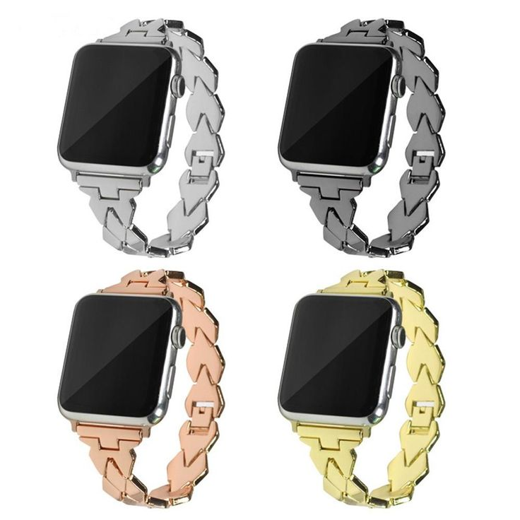 Stainless Steel, Chain Bracelet Apple Watch Band for Series 1,2,3