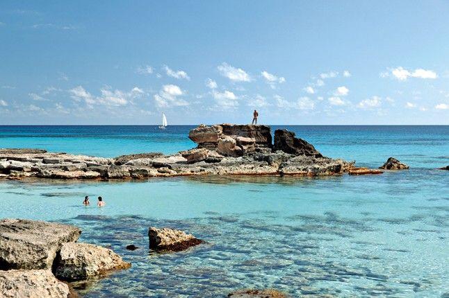 Es Caló d'es Mort, Formentera, Balearic Islands.