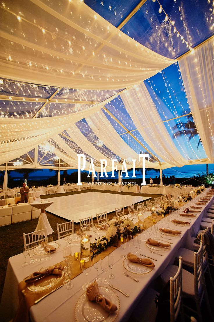 Perfect for a large wedding Sunset Bay, Cayman Islands wedding
