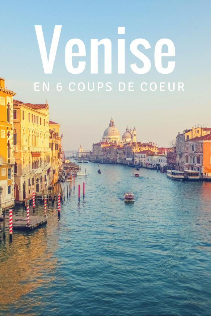 On vous présent nos 6 coups de coeur à Venise! #Italie #voyage