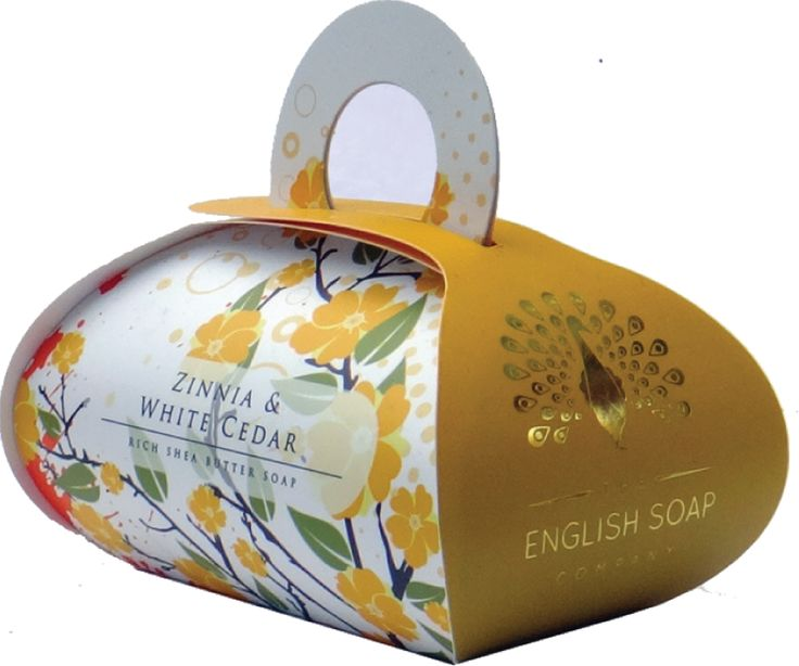 Zinnia & White Cedar Large Bath Soap