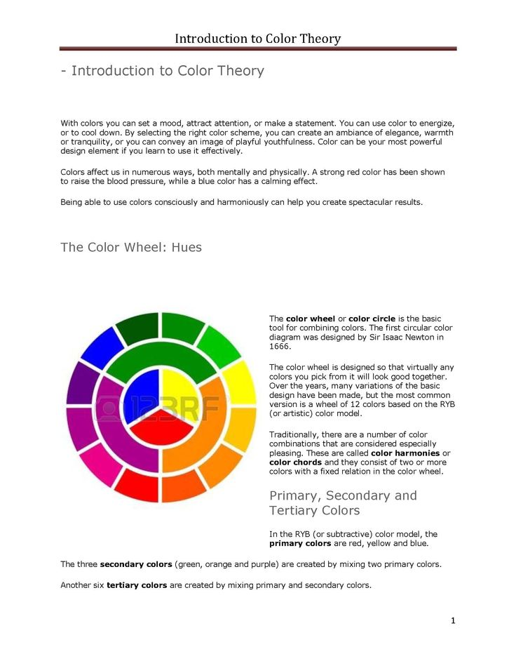Color Wheel. See More. page 1