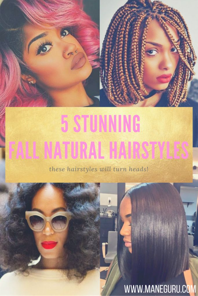 5 Stunning Fall Natural Hairstyles that will turn heads. Get these Natural…