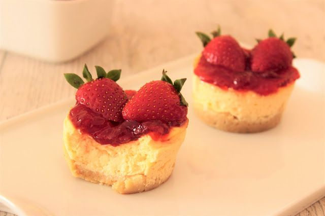 Recomiendo by Pola & Cleme: Mini cheesecakes saludables