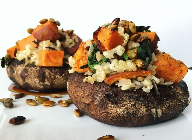 Fill Your Portobelly – Sweet Potato Stuffed Mushrooms! Check out the recipe!