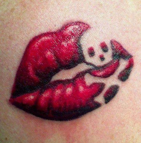 Tatuagens de Lábios