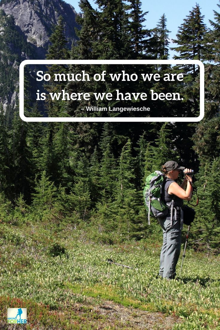 All of the beauty stored up in your heart from your hikes make you the beautiful hiker you are! Keep hiking. #hiking #backpacking #hikinginspiration
