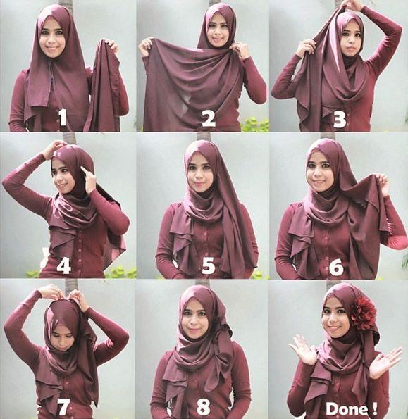 Flower Brooch Hijab Tutorial | My Hijab