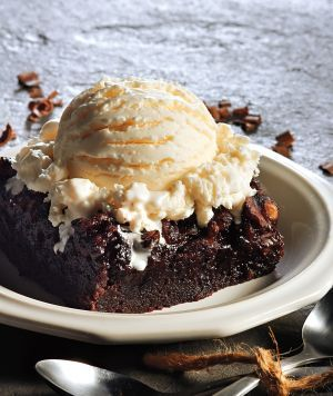 Crockpot Fudge Brownies...so moist you'll never cook 'em in the oven again!