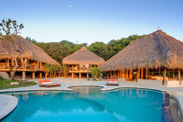 """Sumba, Indonesia: The Nihiwatu Resort, which prides itself on being """"in the archipelago of the extraordinary,"""" resides on the idyllic island just a one-hour plane ride from Bali and the beaches are some of the best in the world."""