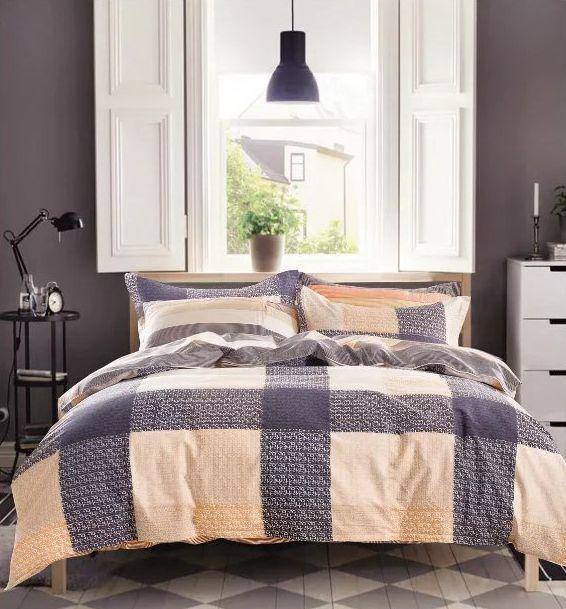 Moderné obojstranné posteľné obliečky 200x220cm