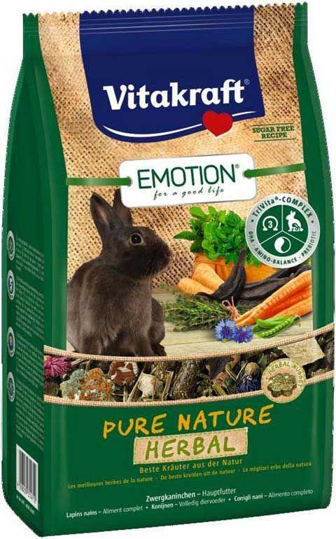 Корм для кроликов PURE NATURE HERBAL 600 г