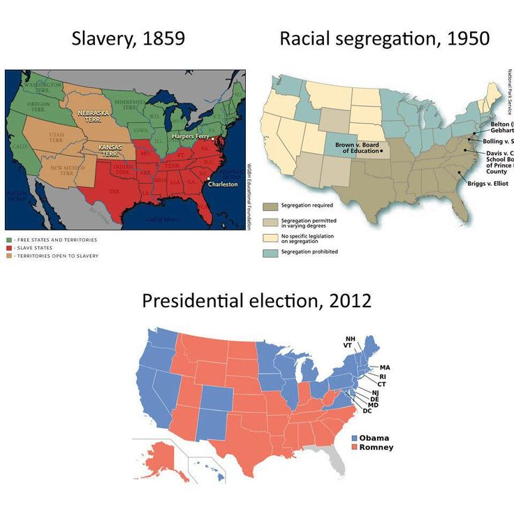 Slavery Racial Segregation And Presidential Election 2012