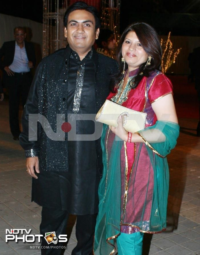 Dilip Joshi With His Real Life Wife...